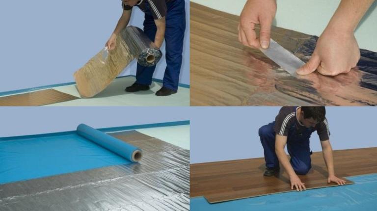 Az elektromos padlófűtés pillanatok alatt telepíthető, és szinte semmi helyet nem foglal el a padló alatt (fotó: profimedia.hu)