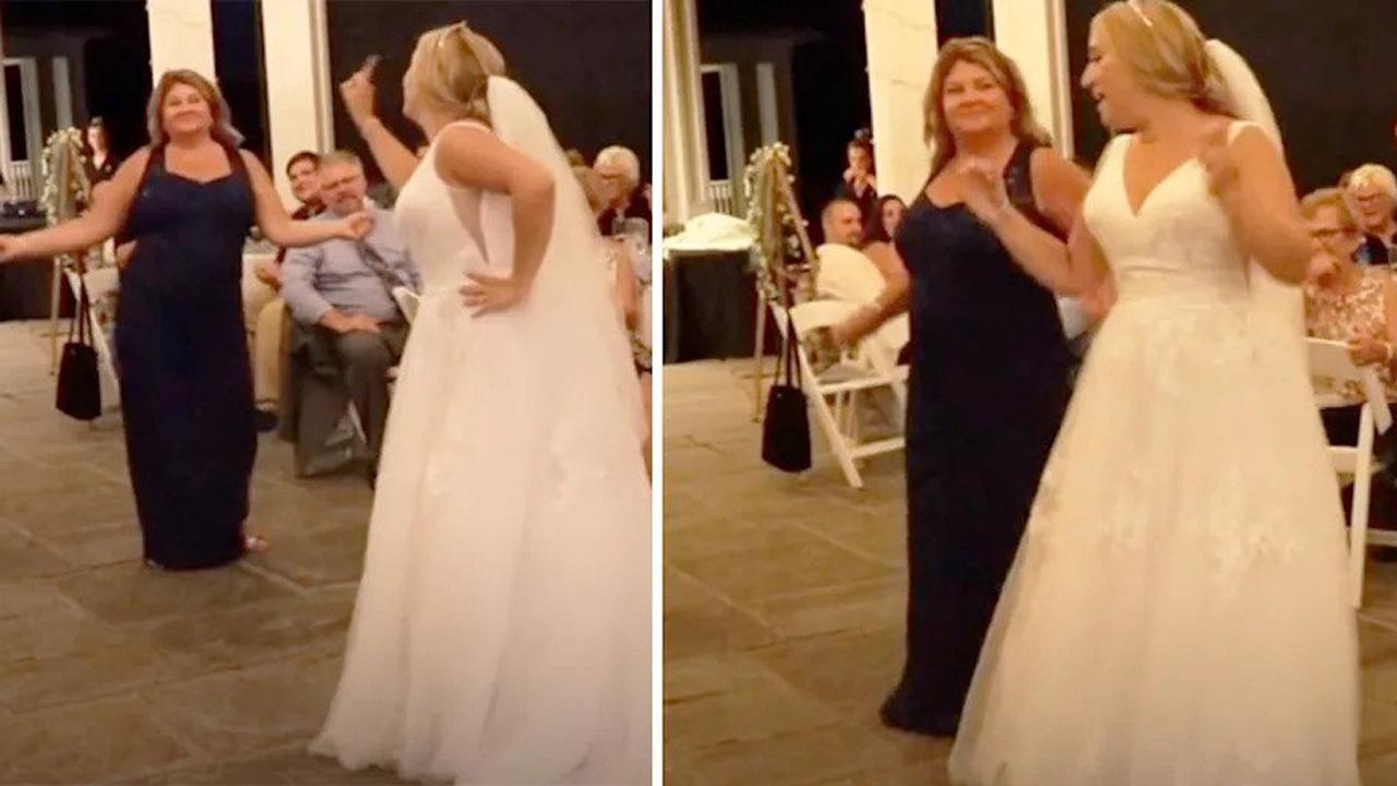 Esküvői anya-lánya tánc