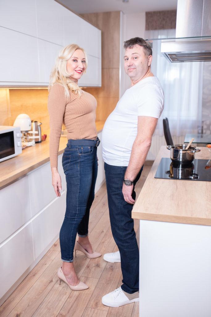 Kandász Andi és a férje, Feri sokszor motiválják egymást