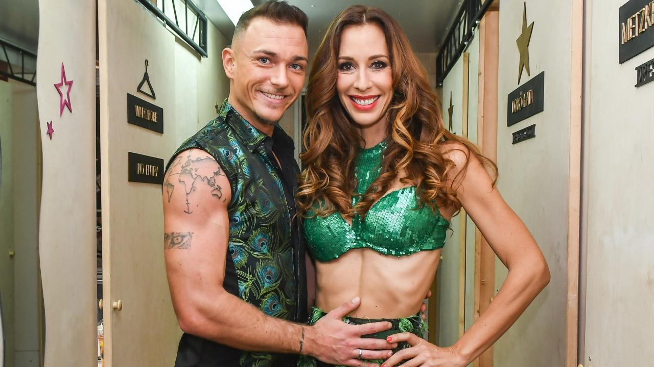 Demcsák Zsuzsa és Suti András rumbát adtak elő a Dancing with the Stars második adásában