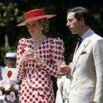 Diana hercegné Károly herceg társaságában 1986-ban, Japánban.