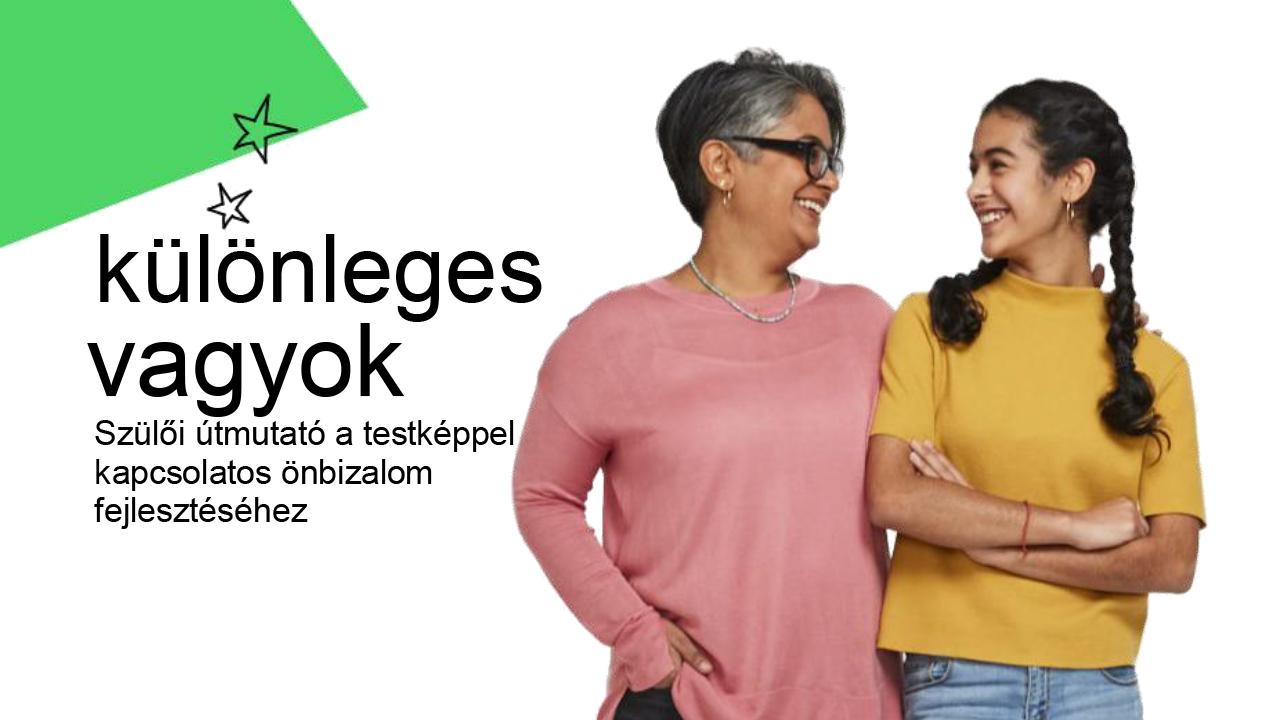 Tübbek közt ilyen szülői útmutató is letölthető a Dove Önbizalom Program oldaláról.
