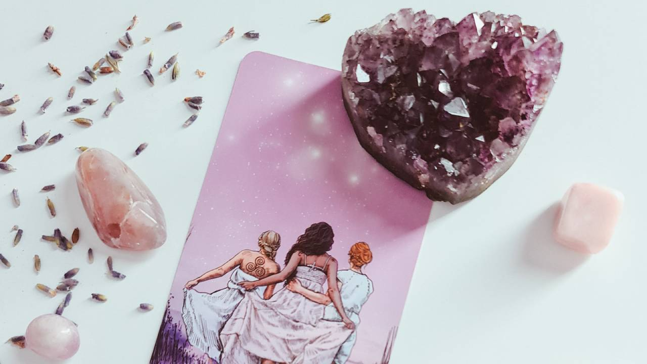 ásványok és tarot