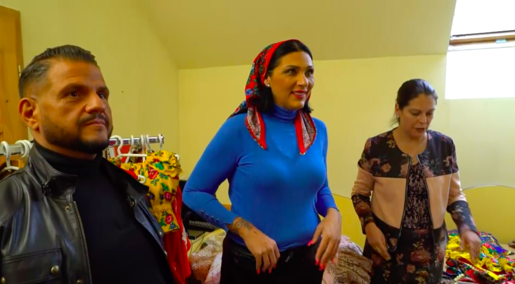 Tina és Emilio ruhapróbája