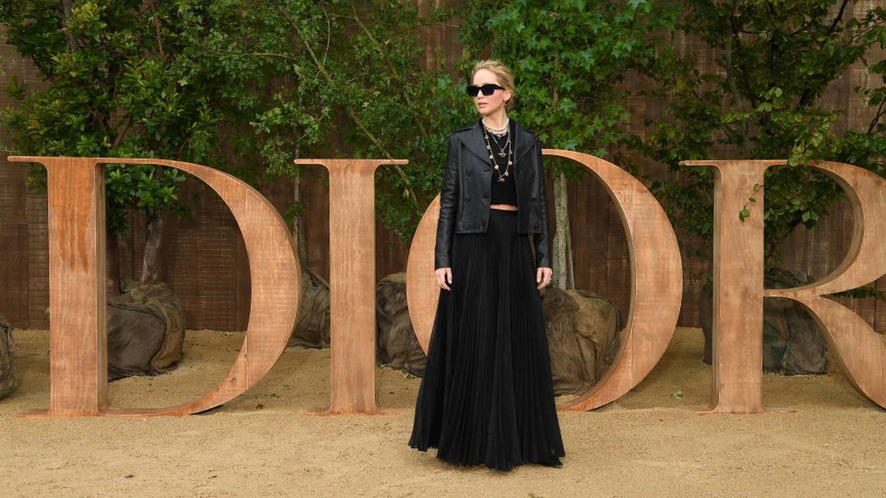 Jennifer Lawrence, a Dior arca