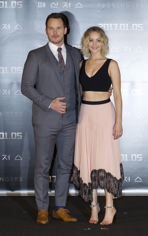 Jennifer Lawrence és Chris Pratt