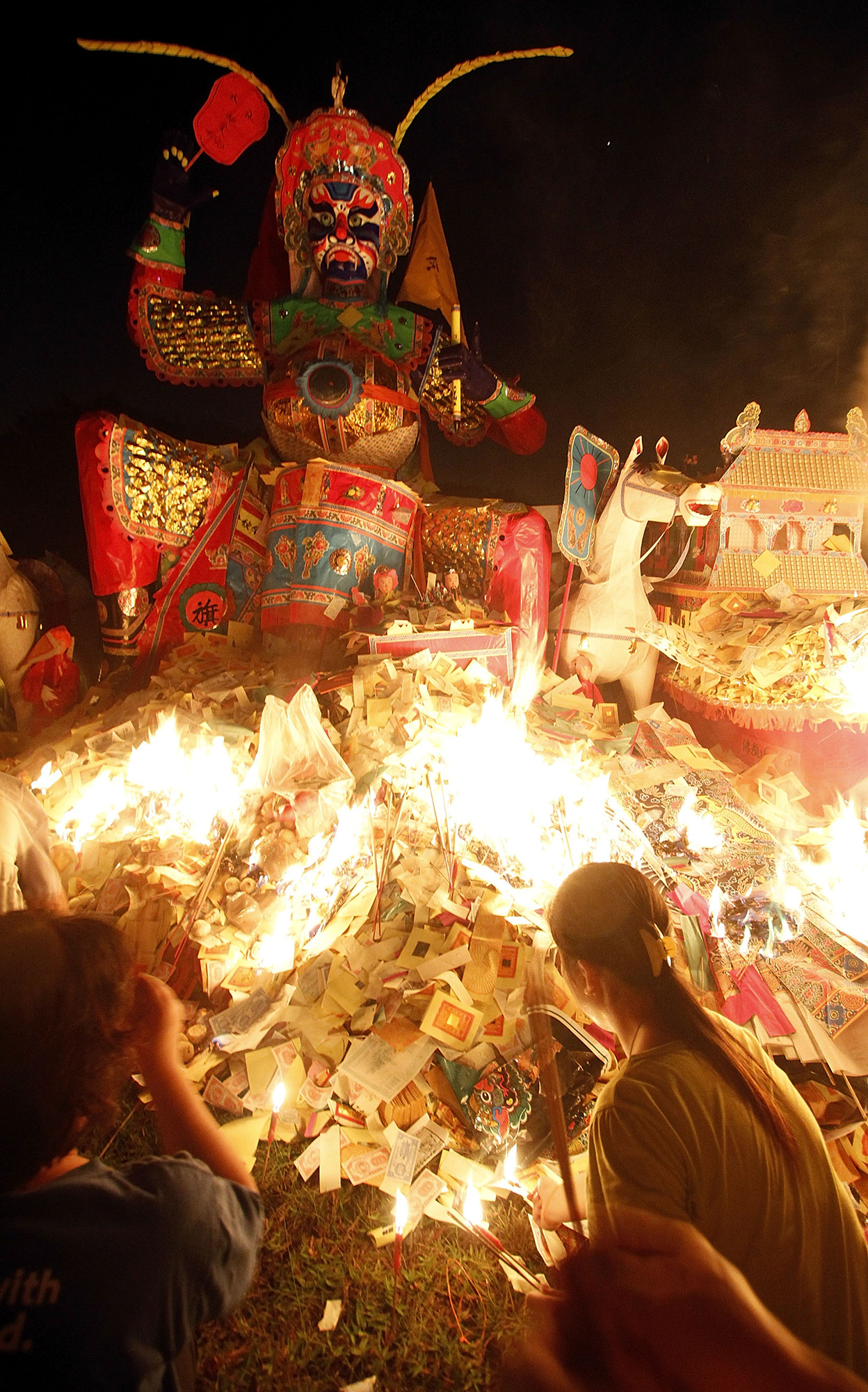 Éhes szellemek fesztiválja Kínában