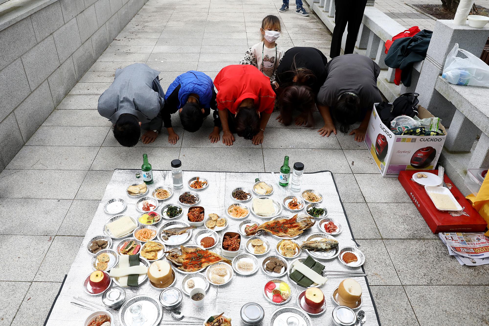 Chuseok Dél-Koreában
