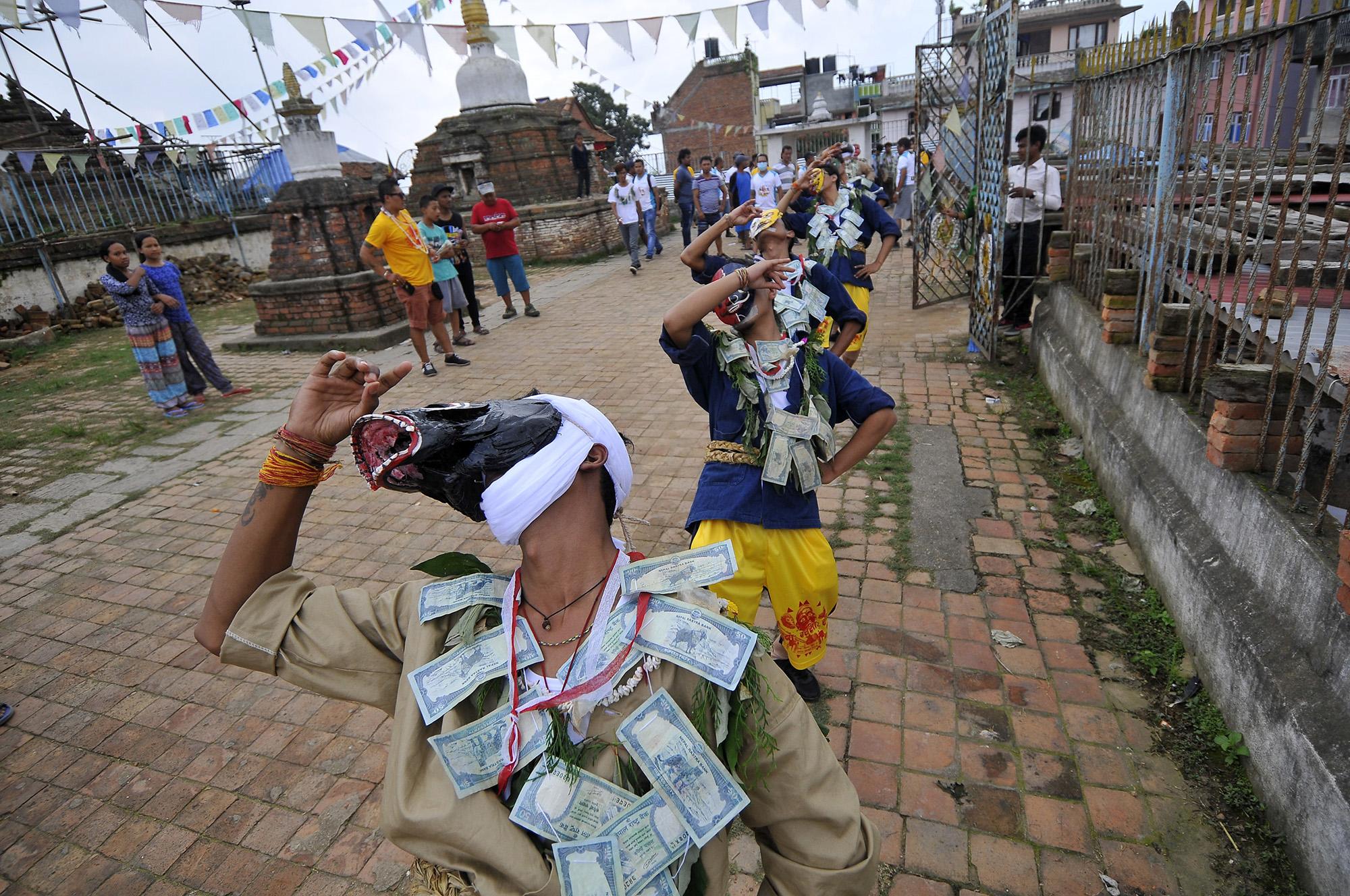 Gai Jatra Nepálban