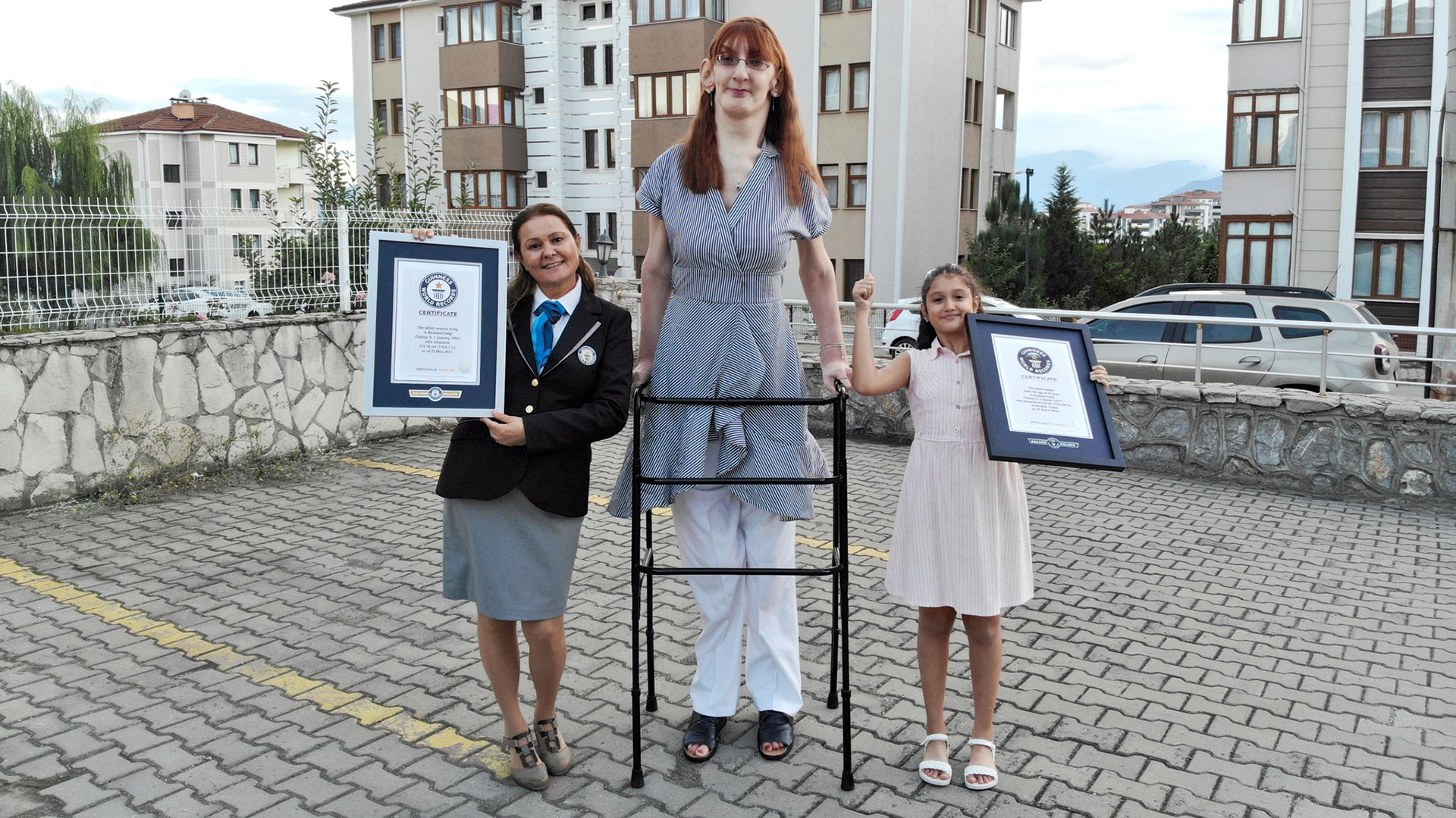A világ legmagasabb nője