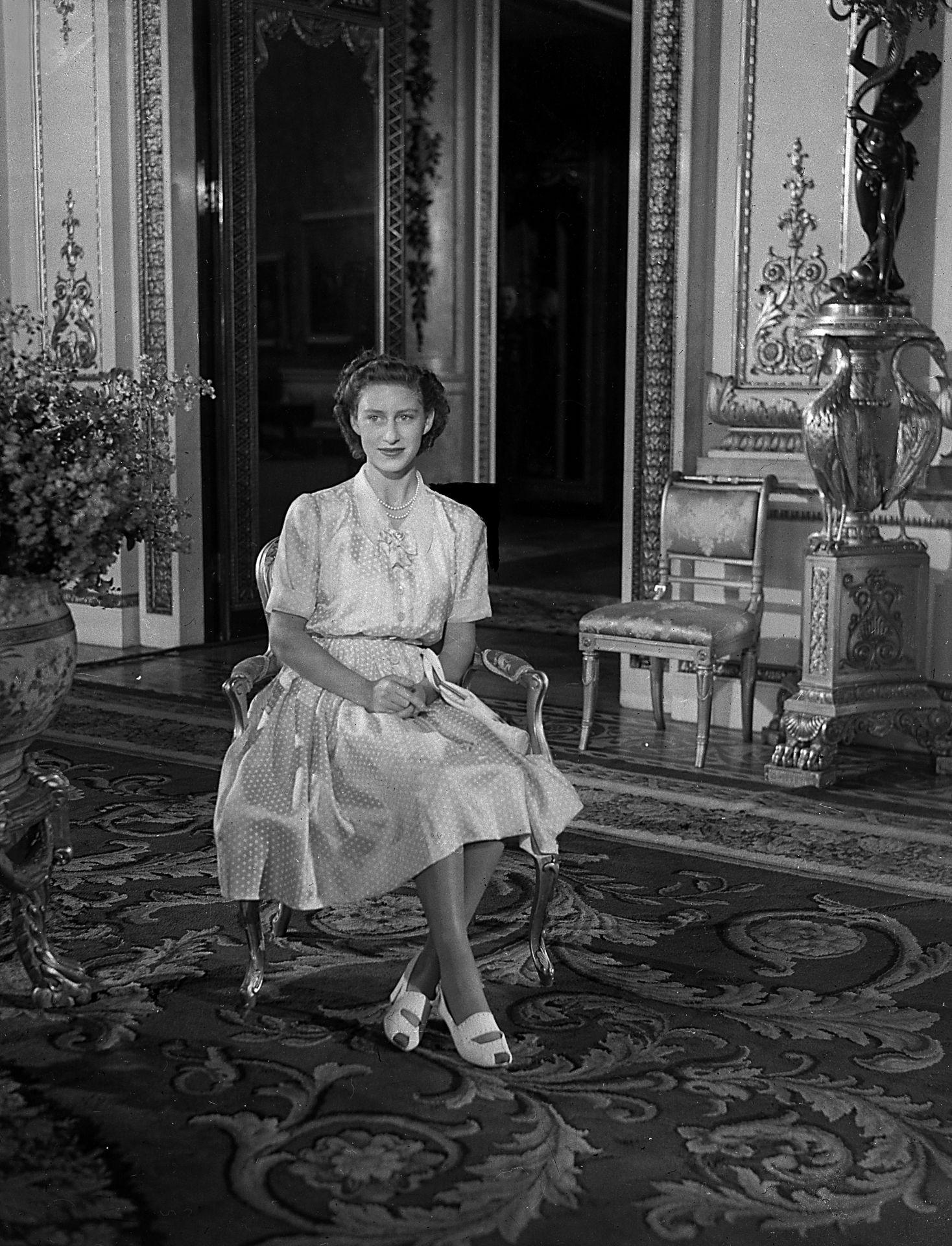 Margit hercegnő a 17. születésnapján