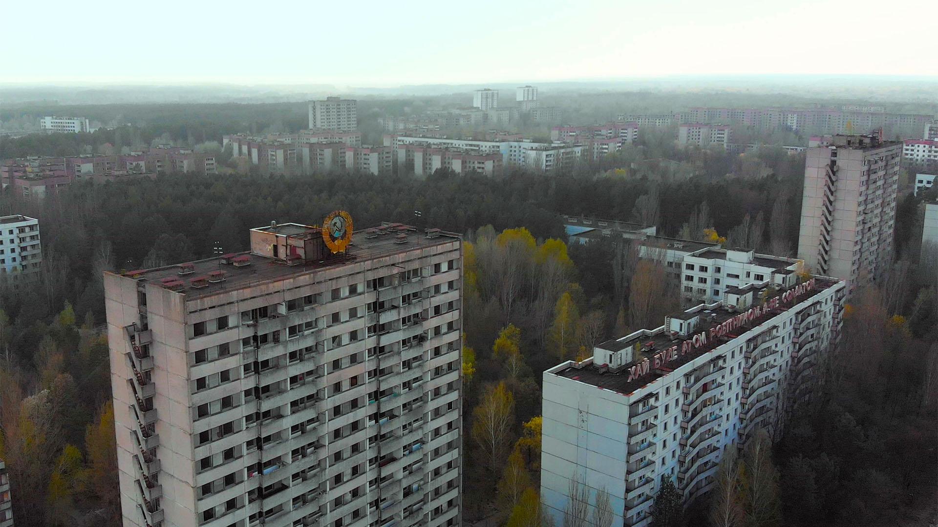 Olcsó albérleteket kínál Csernobilban az ukrán kormány