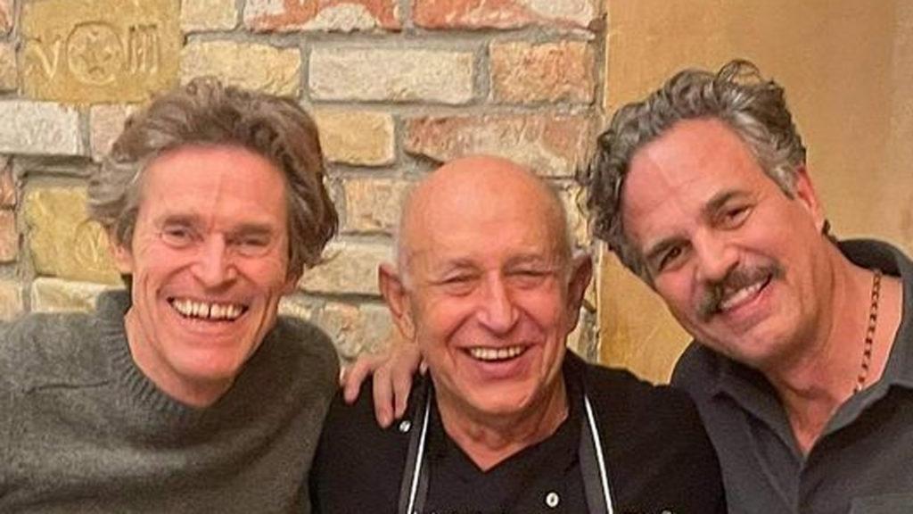 Kiderült, mit evett Willem Dafoe és Mark Ruffalo Rosensteinéknél