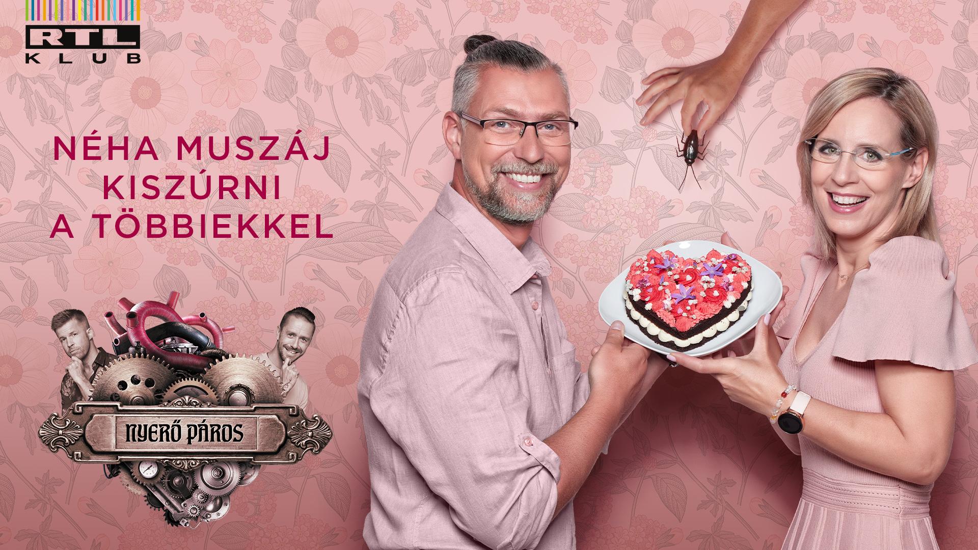 A Nyerő Páros 2021 versenyzői: Pataki Zita és Szárnyas Attila (Fotó: Sajtóklub)