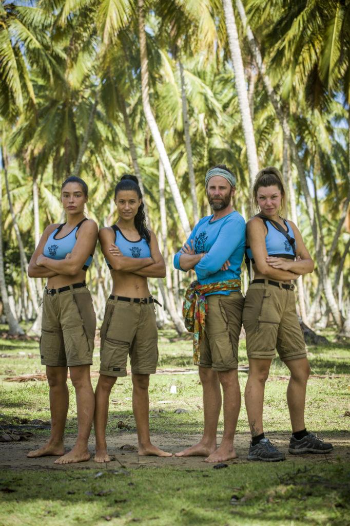 Survivor: Máté, Juliska, Zsófi és Rózsa az törzs utolsó négy játékosa